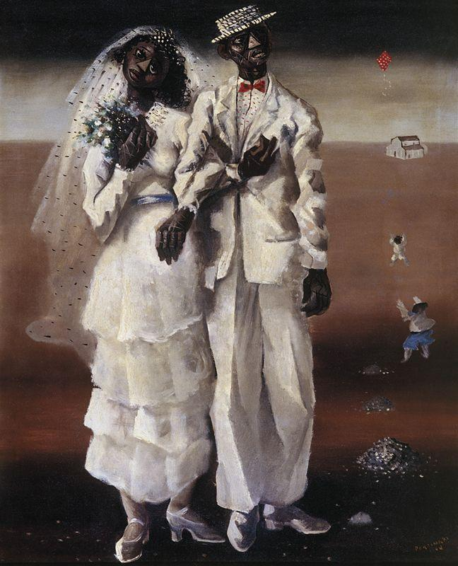 Marriage on the farm  - Candido Portinari