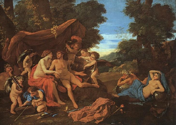 Mars and Venus - Nicolas Poussin