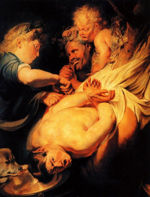 Marsyas Flayed by Apollo - Jacob Jordaens