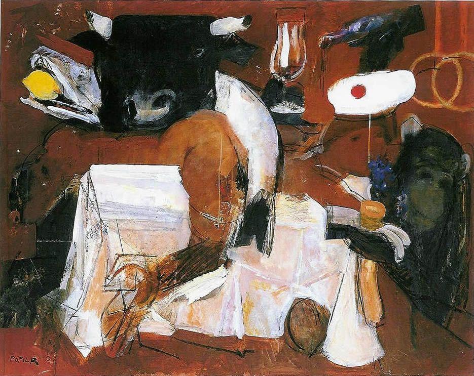 Martelo (e Tres Frutos) - Julio Pomar