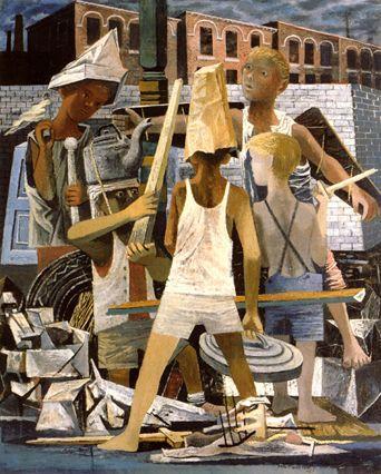 Martial Memory - Philip Guston