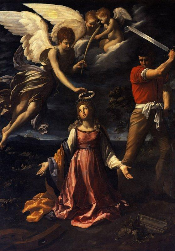 Martyrdom of Saint Catherine of Alexandria - Guido Reni