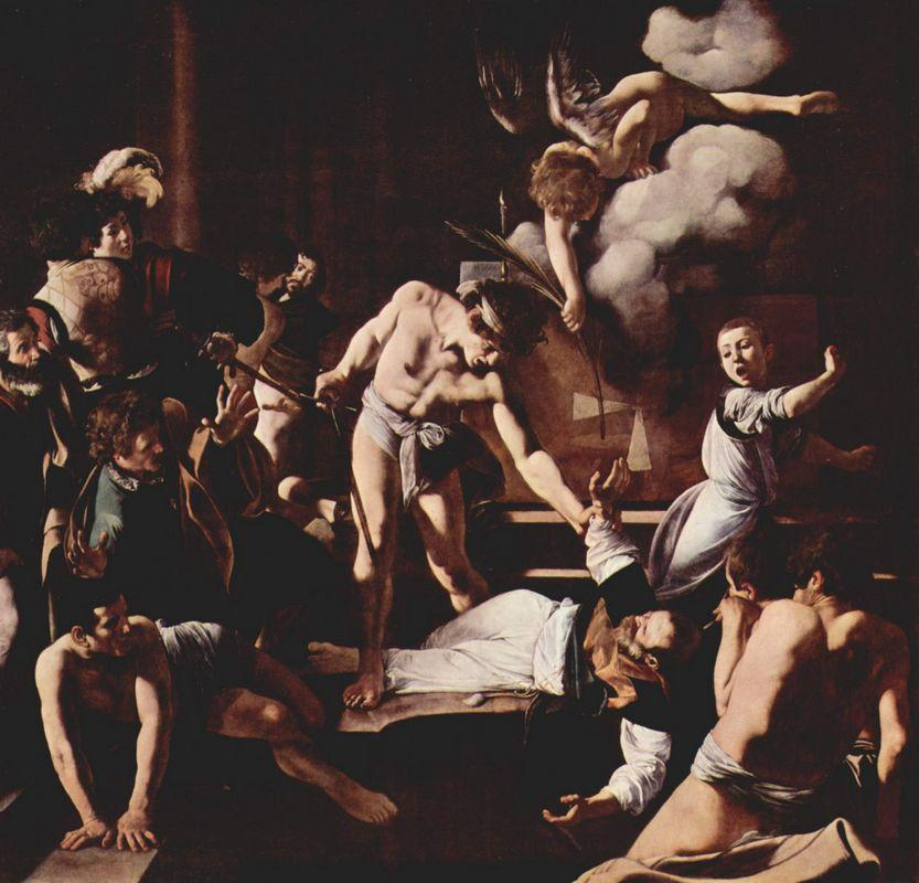 Martyrdom of Saint Matthew - Caravaggio
