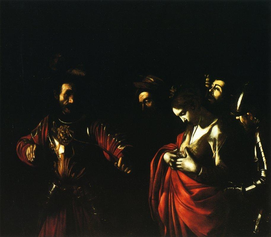 Martyrdom of Saint Ursula - Caravaggio