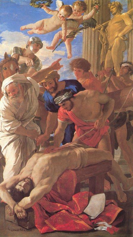 Martyrdom of St. Erasmus - Nicolas Poussin