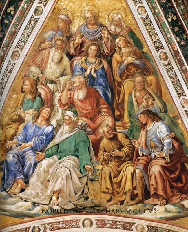 Martyrs and Saint Virgins - Luca Signorelli