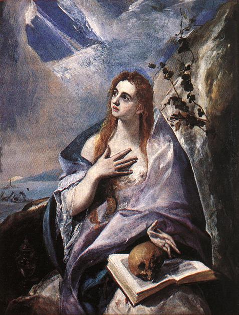 Mary Magdalene in Penitence - El Greco