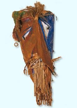 Mask for Firdusi - Marcel Janco