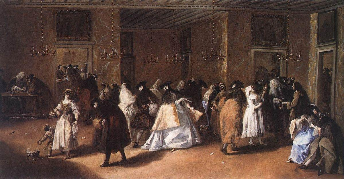 Masked Meeting - Francesco Guardi