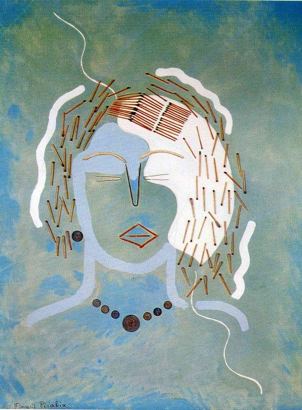 Match Woman - Francis Picabia