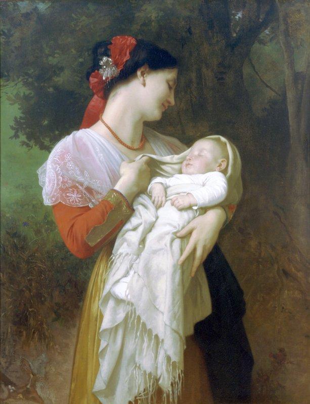 Maternal Admiration - William-Adolphe Bouguereau