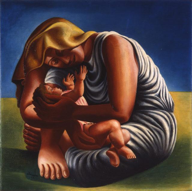 Maternity - Jose de Almada-Negreiros