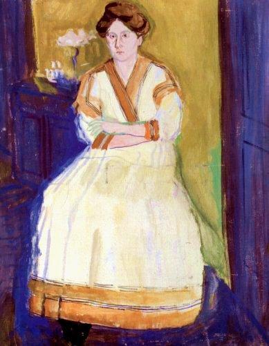 Mathilde Schoenberg II - Richard Gerstl