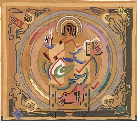 Matiere et Lumiere ou le Christ au Tetramorphe - Albert Gleizes