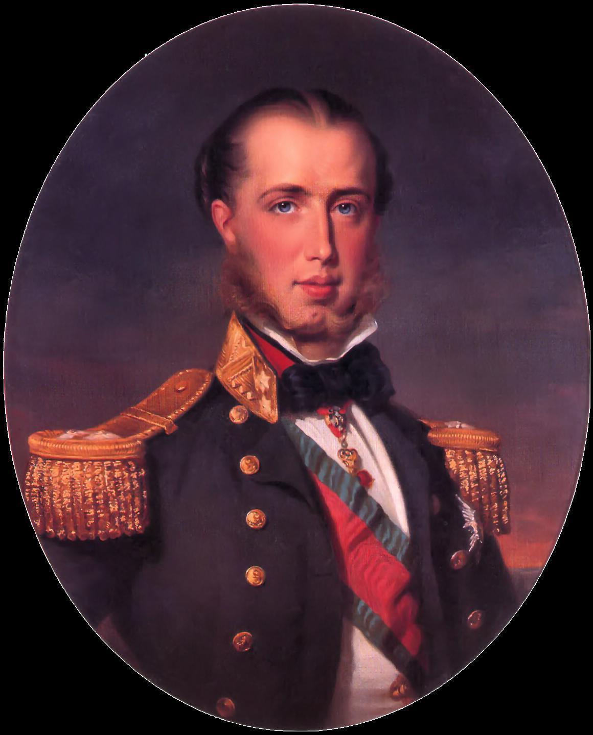 Maximiliaan van Oostenrijk - Franz Xaver Winterhalter