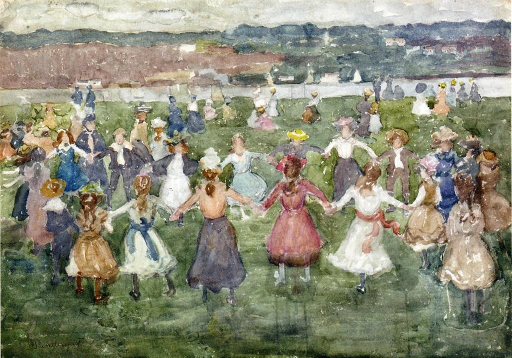 May Day - Maurice Prendergast