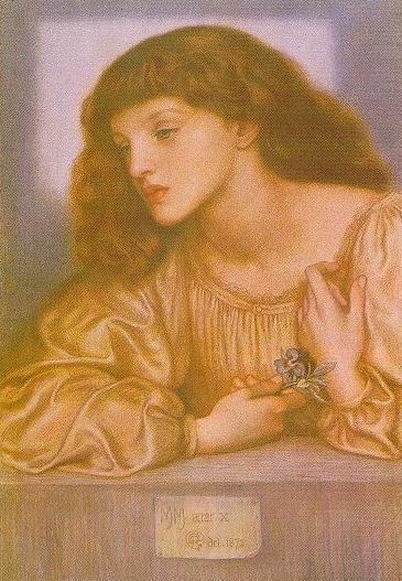 May Morris - Dante Gabriel Rossetti