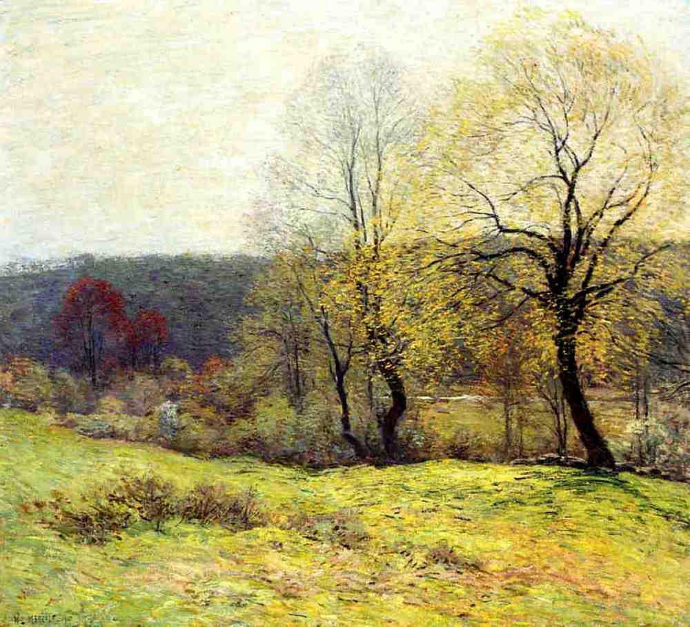 May Pastoral - Willard Metcalf