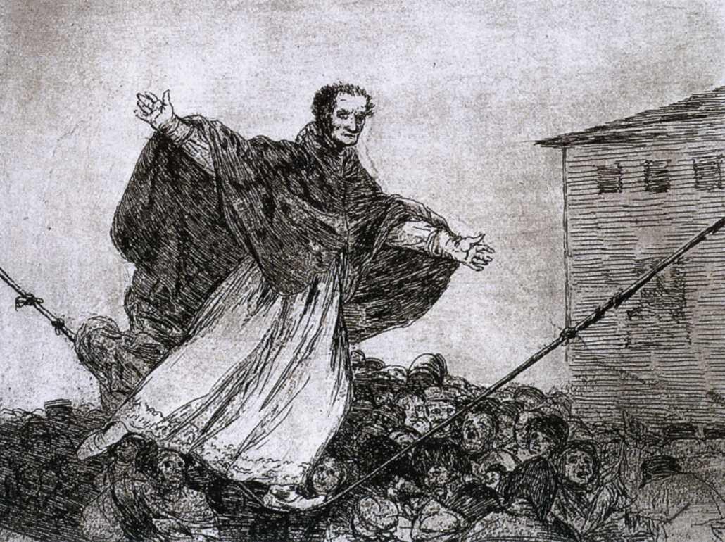 May the rope break - Francisco Goya
