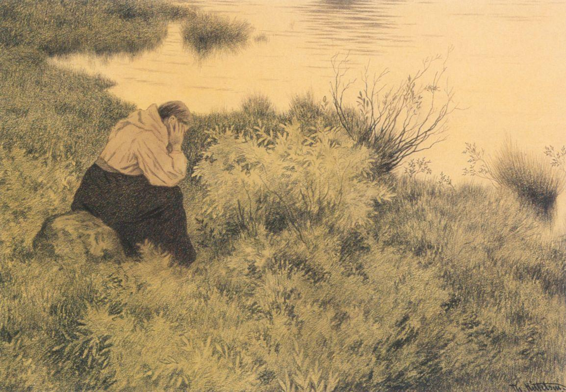 Me, me, me, me they will lead far away from the country - Theodor Severin Kittelsen