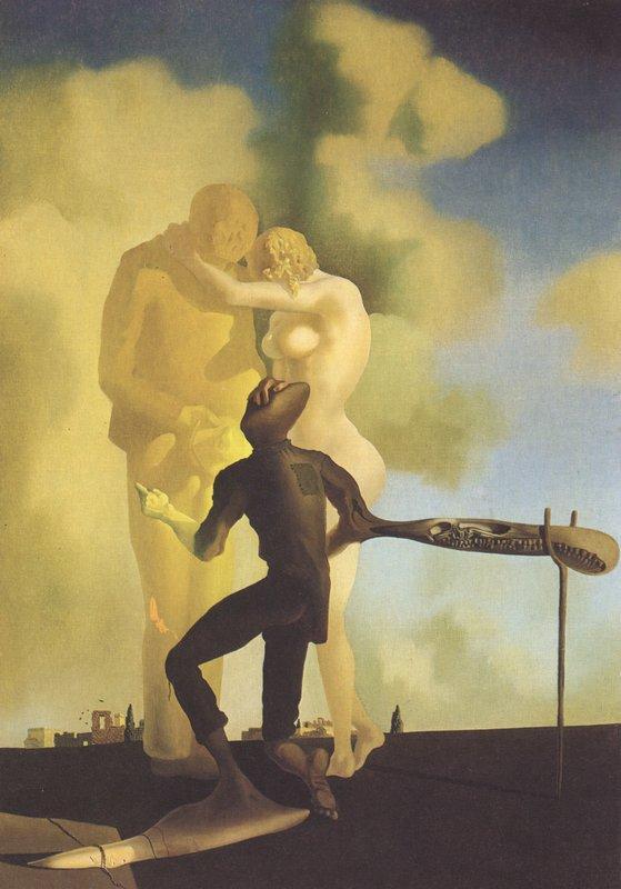 Meditation on the Harp - Salvador Dali