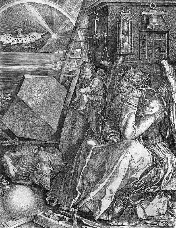 Melencolia I - Albrecht Durer