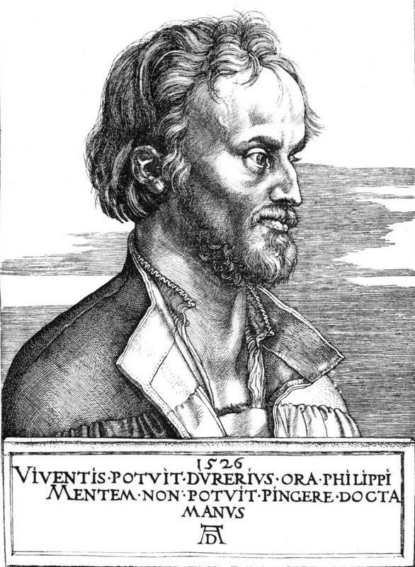 Melancthon - Albrecht Durer