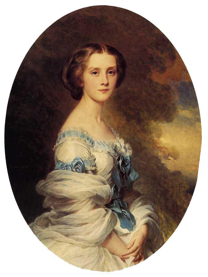 Melanie de Bussiere, Comtesse Edmond de Pourtales - Franz Xaver Winterhalter