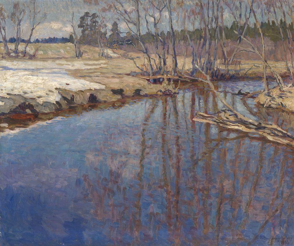 Melted Water - Nikolay Bogdanov-Belsky