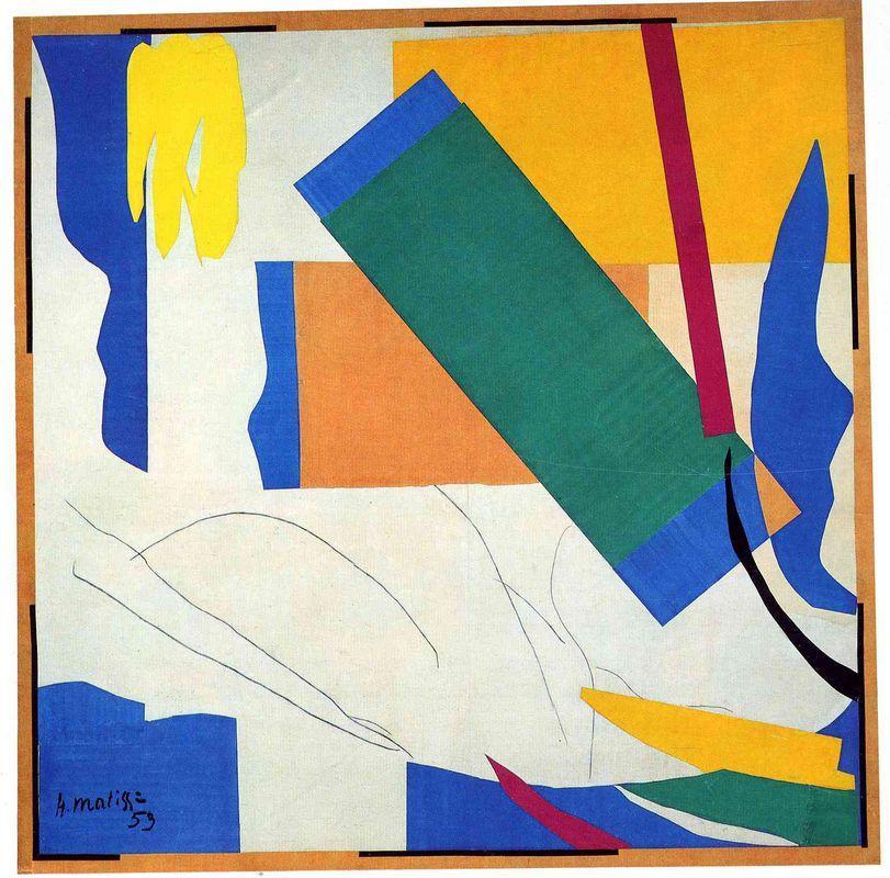 Memory of Oceania  - Henri Matisse