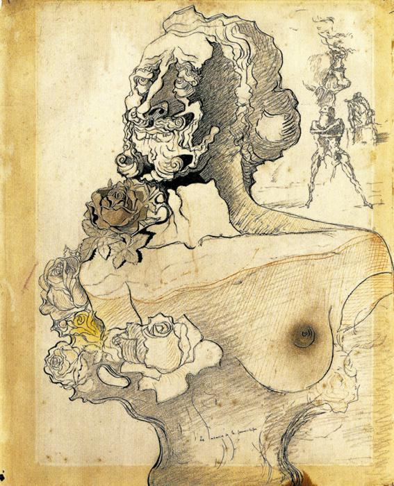 Memory of the Child Woman - Salvador Dali