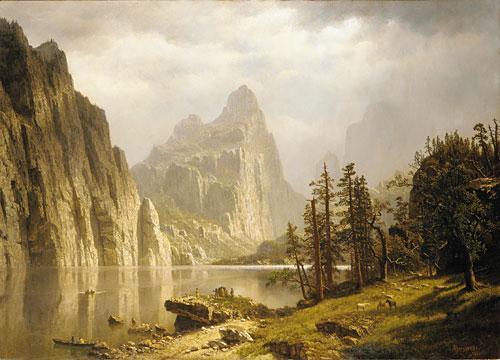 Merced River, Yosemite Valley - Albert Bierstadt