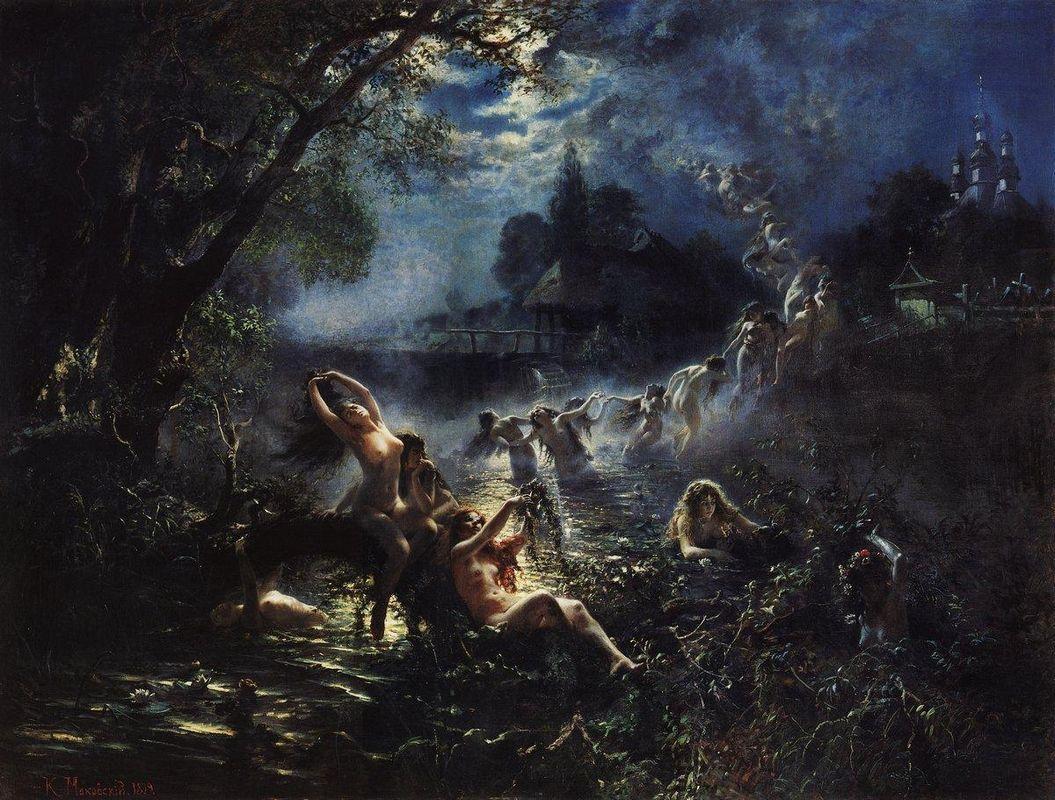 Mermaids - Konstantin Makovsky