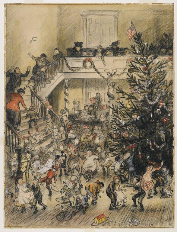 Merry Christmas - William James Glackens