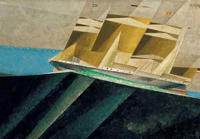 Mid-Ocean - Lyonel Feininger