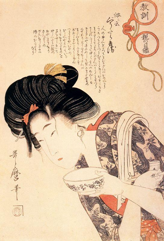 Middle Class Mother and Daughter - Kitagawa Utamaro