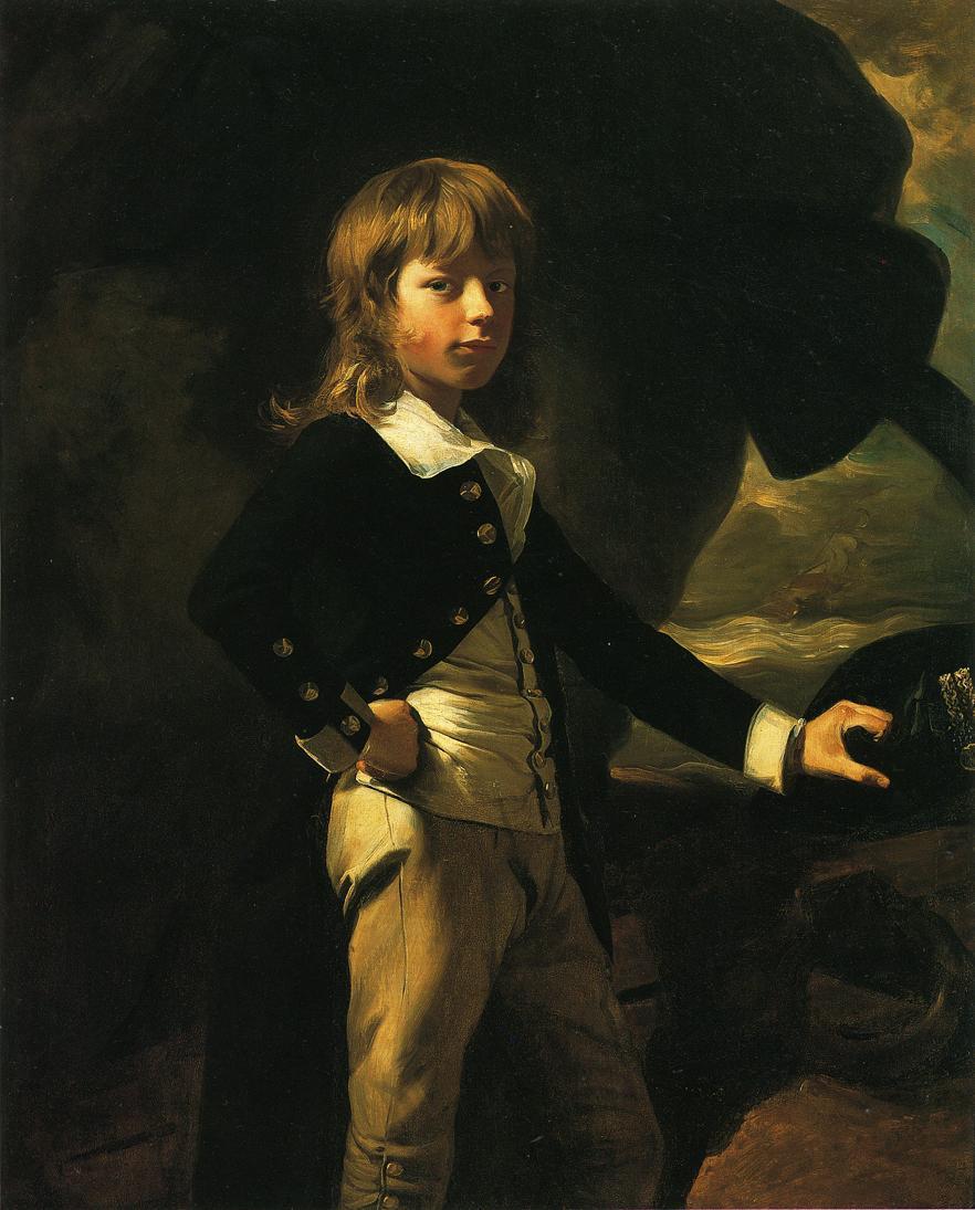 Midshipman Augustus Brine - John Singleton Copley