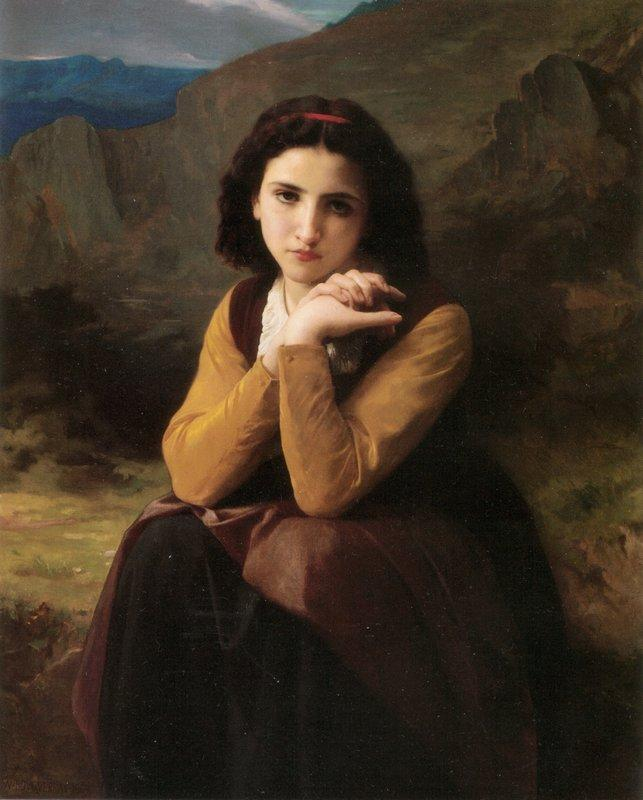 Mignon - William-Adolphe Bouguereau