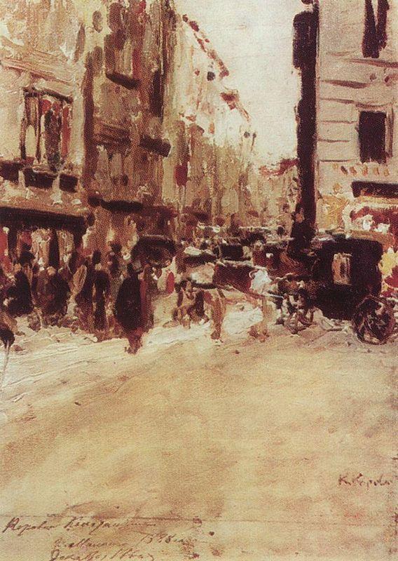 Milan  - Konstantin Korovin