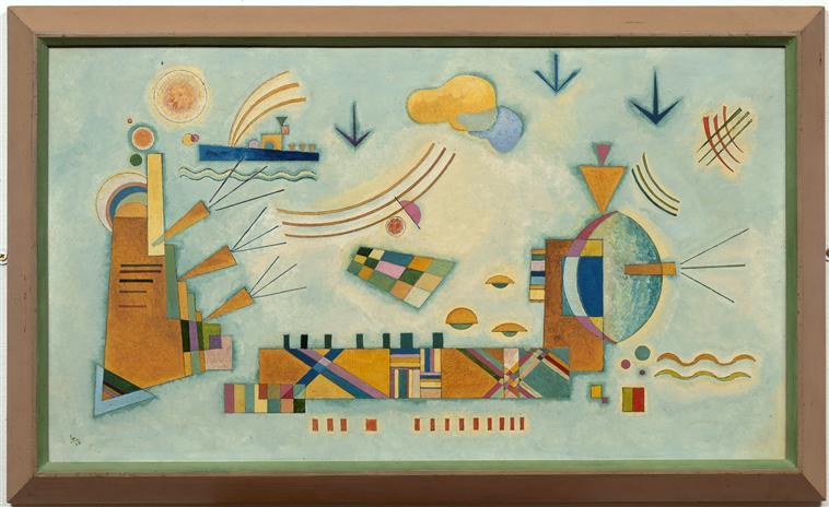 Mild process -  Wassily Kandinsky