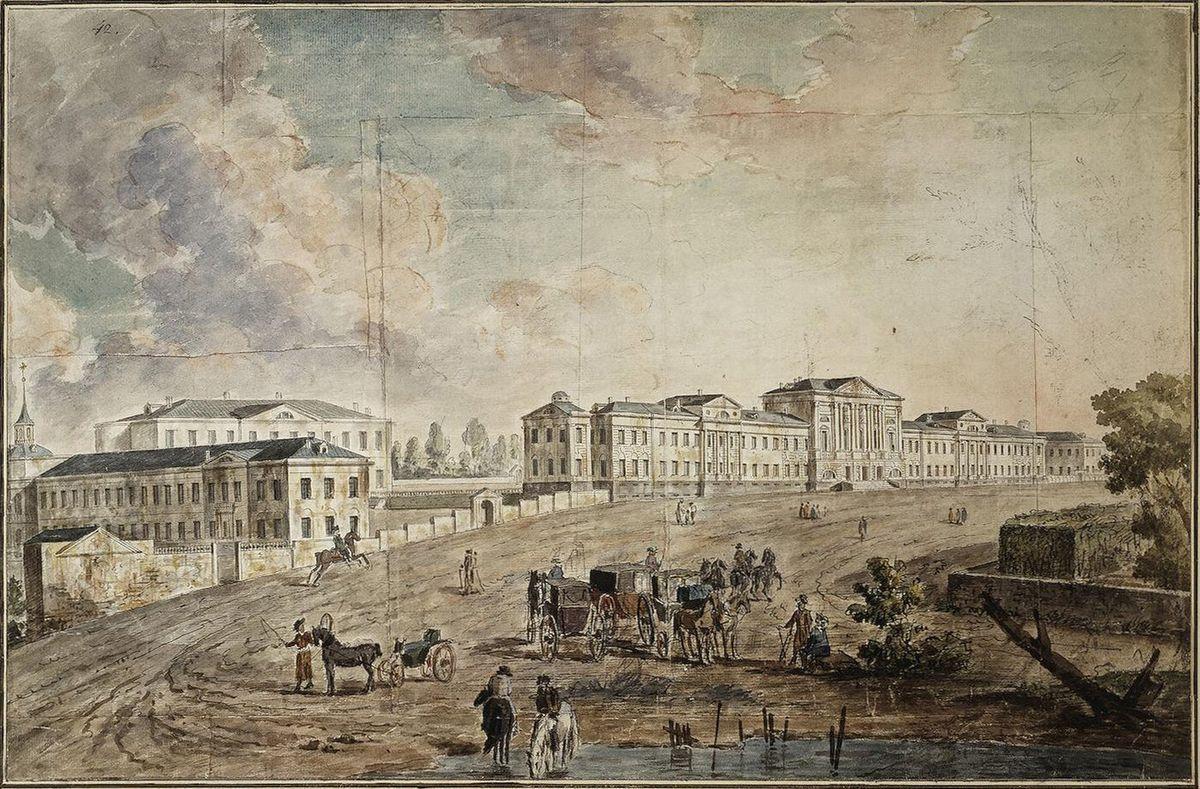 Military Hospital at Lefortovo - Fyodor Alekseyev