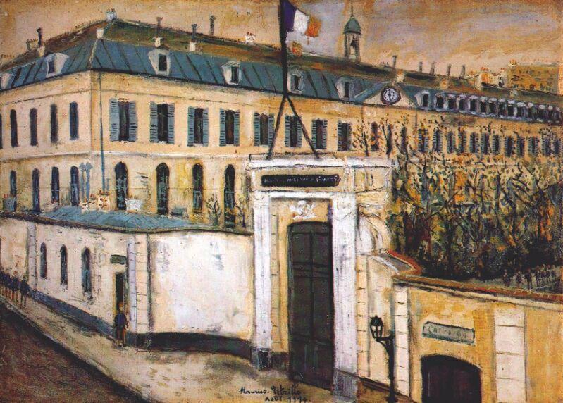 Military hospital  - Maurice Utrillo