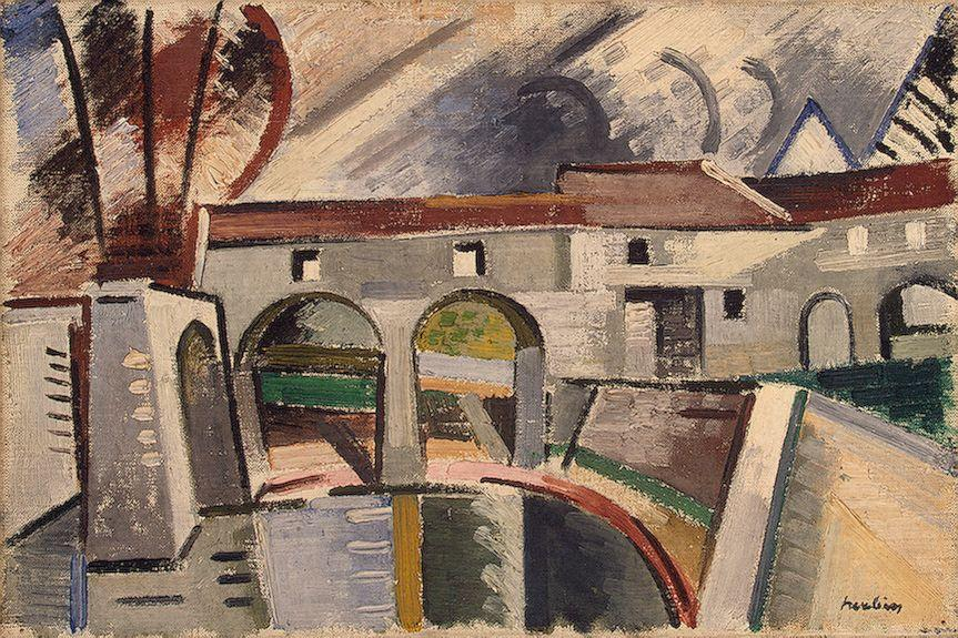 Mill on the Marn, Creteil - Auguste Herbin