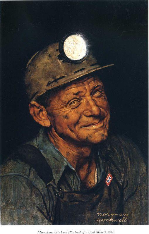 Mine America`s - Norman Rockwell