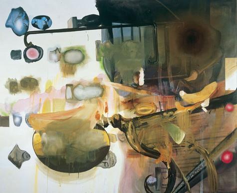 Mirage of Steel - Albert Oehlen