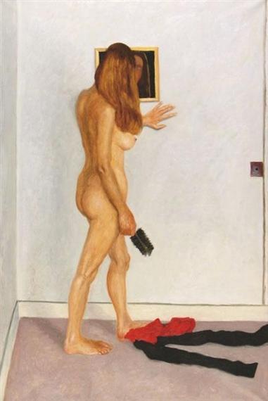 Mirror on the Wall - Avigdor Arikha
