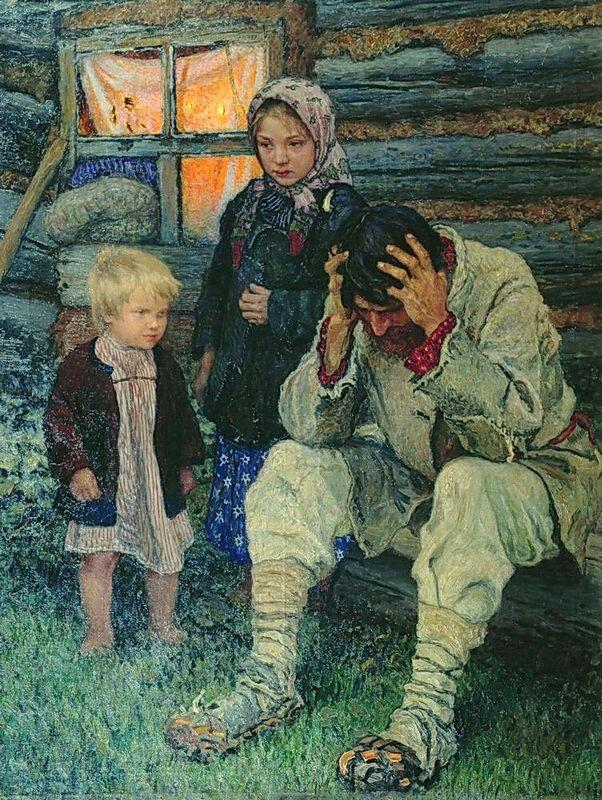Misery - Nikolay Bogdanov-Belsky
