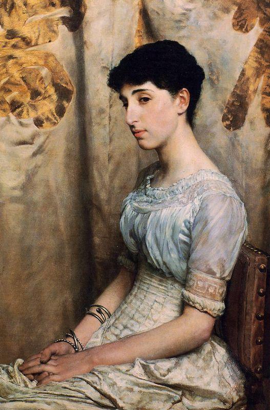 Miss Alice Lewis - Sir Lawrence Alma-Tadema
