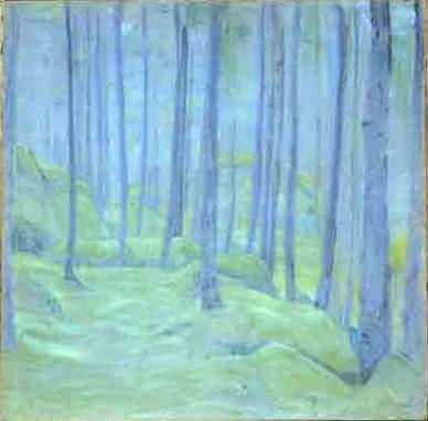 Mist in the forest - Nicholas Roerich