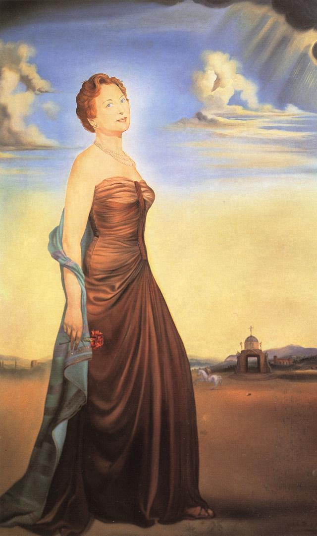 Mme. Reese - Salvador Dali